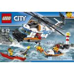 LEGO City Coast Guard Heavy-Duty Rescue Helicopter Building Kit